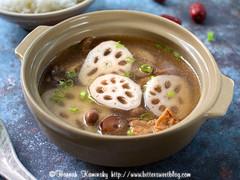 Lotus Root Soup 1