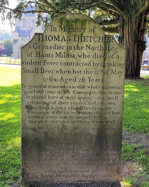 Death of Thomas Thetcher