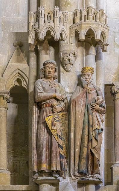Stifterfiguren im Naumburger Dom