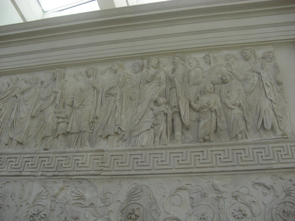 Relief of Imperial Family Procession