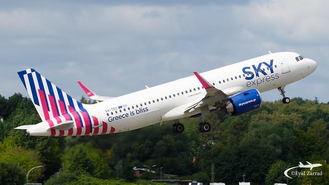 HAM - Sky Express Airbus A320Neo SX-TEC