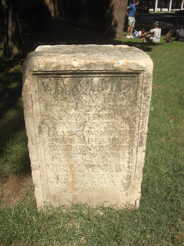 Funerary Monument of M. Aurelius Claudianus