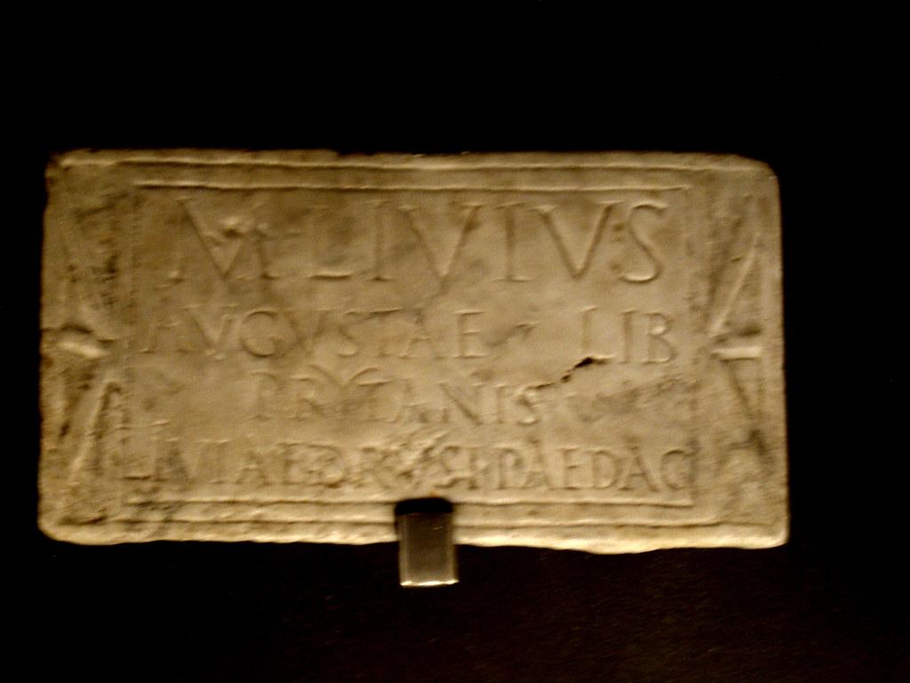 Inscription of M. Livius Prytanis