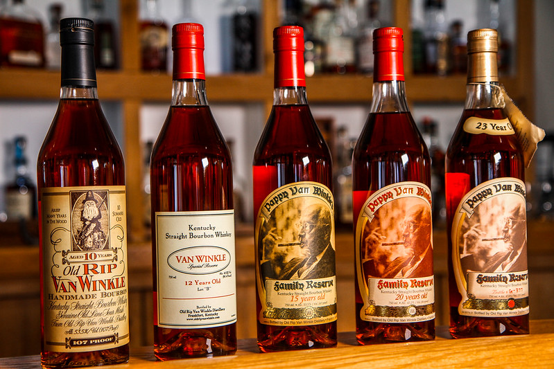 Pappy Van Winkle Collection for Raffle