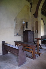 rood loft stairs and pulpit