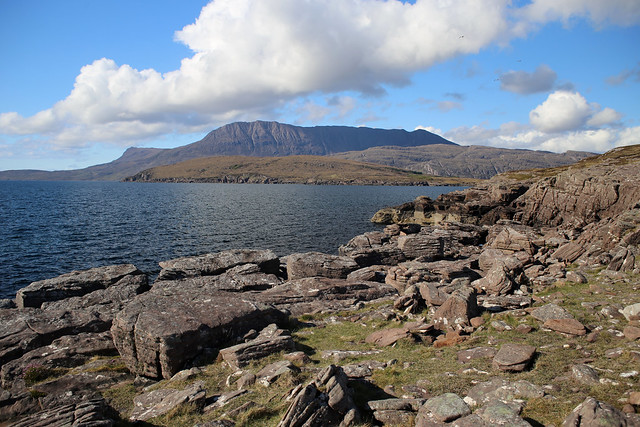 View from Rhue lighthouse
