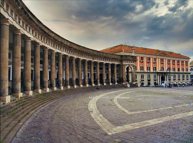 Naples / Palazzo della Prefettura / Piazza del Plebiscito