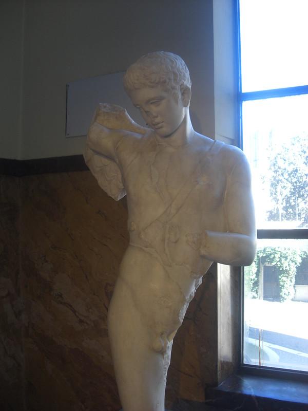Statue of Icarus