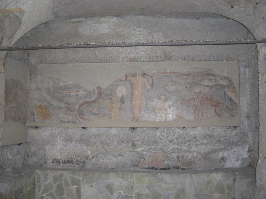 Frigidarium with Fresco of Venus Anadiomene