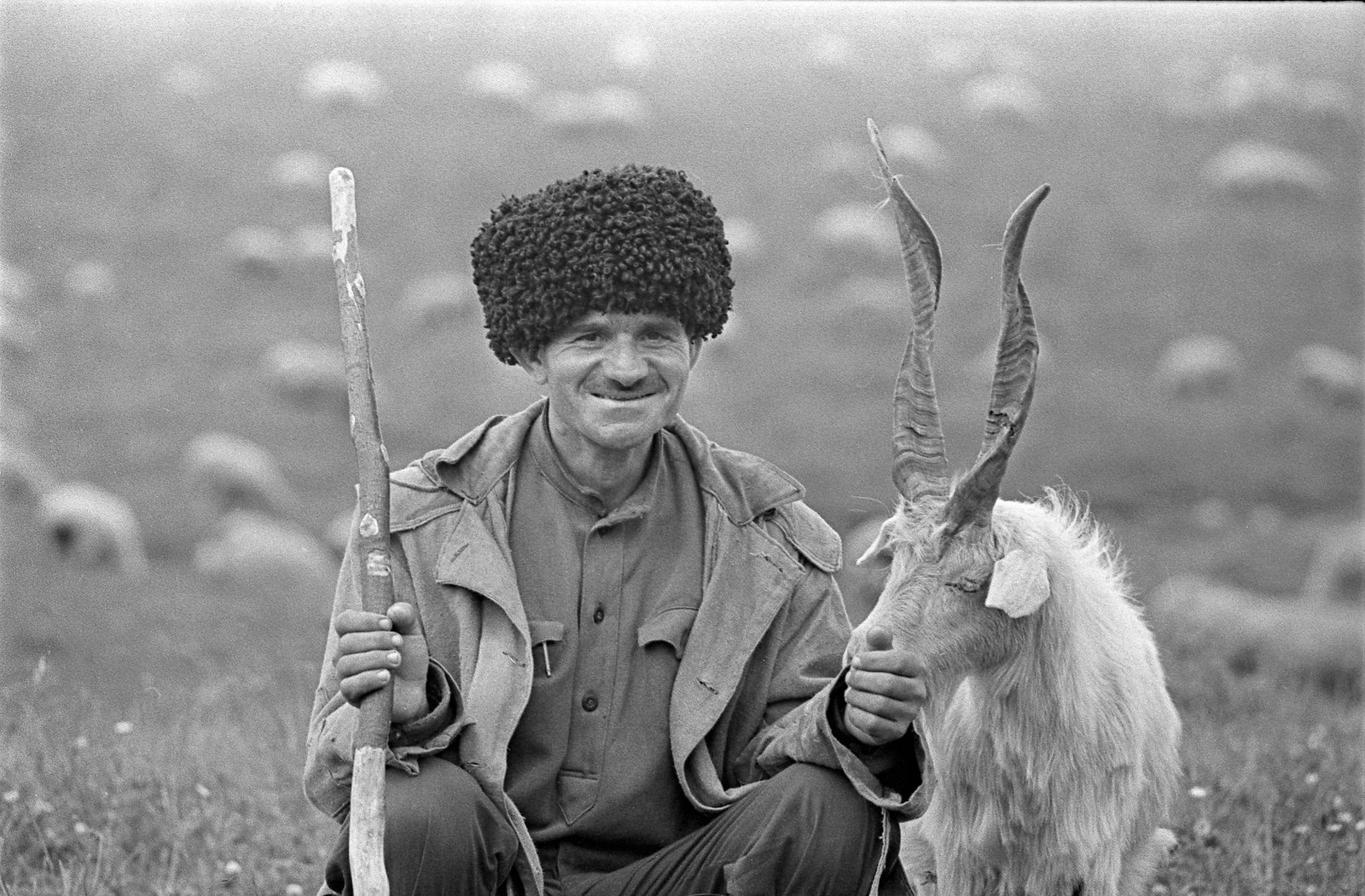 1974. Пастух-аварец
