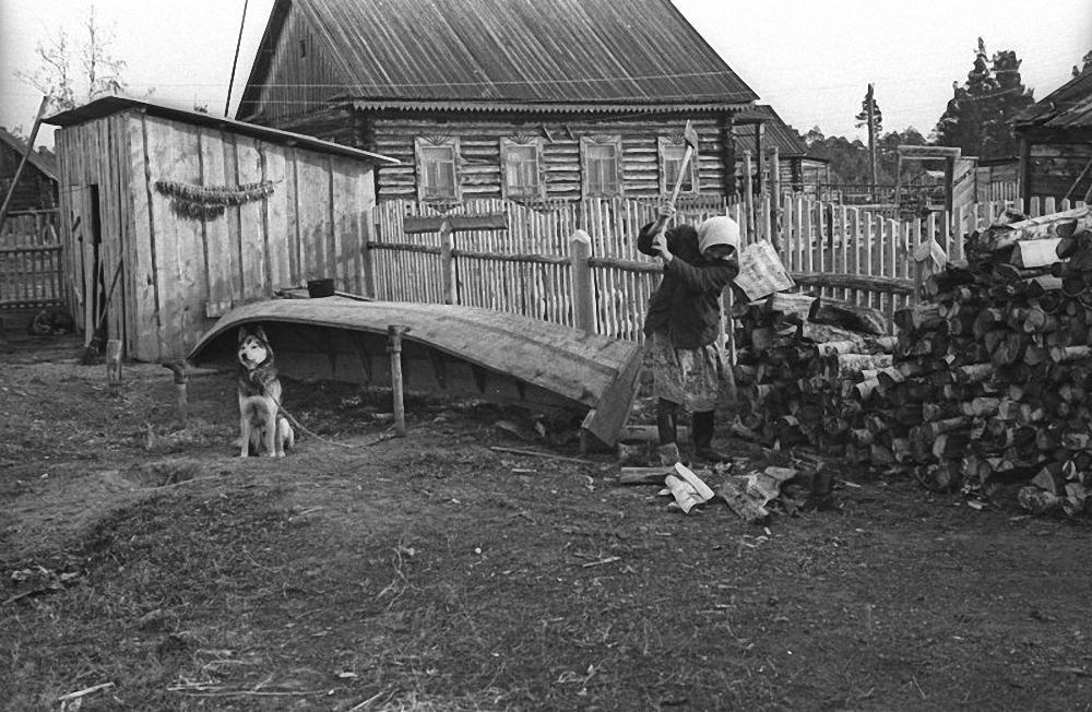 1974. Деревня Березово
