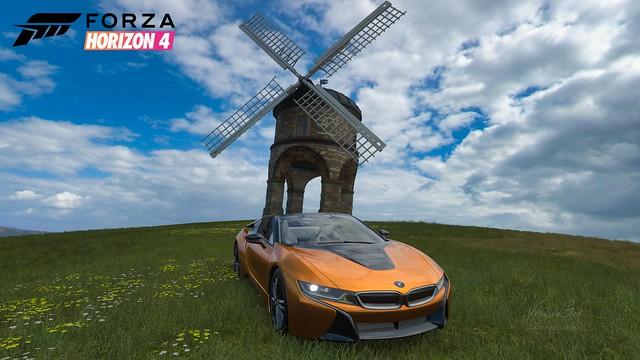 Forza Horizon 4 - BMW i8 Roadster 2019 Wallpaper