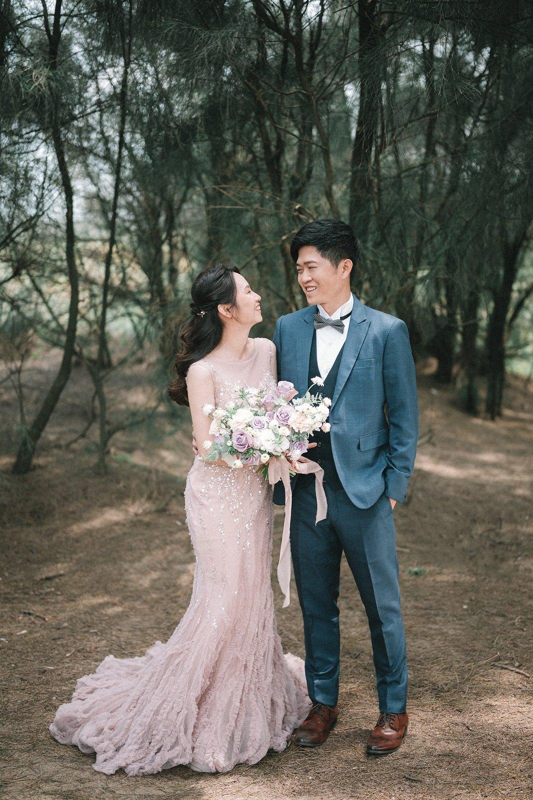 【婚紗】Bruce & Sally / 沙崙海灘 / 華中河濱公園 / 大稻埕碼頭