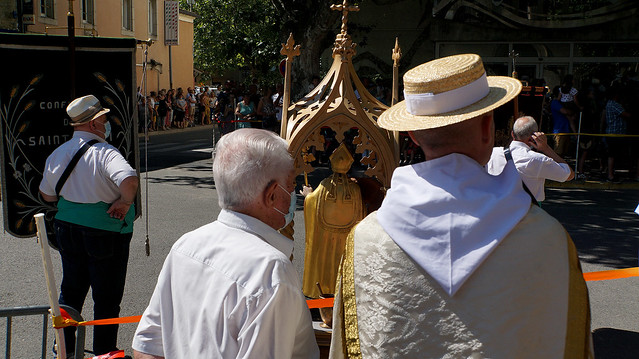 La St Éloi à Rognonas, Provence