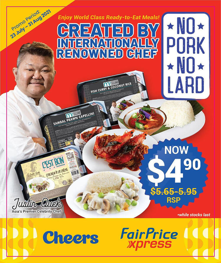 premium ready-to-eat meals in Singapore