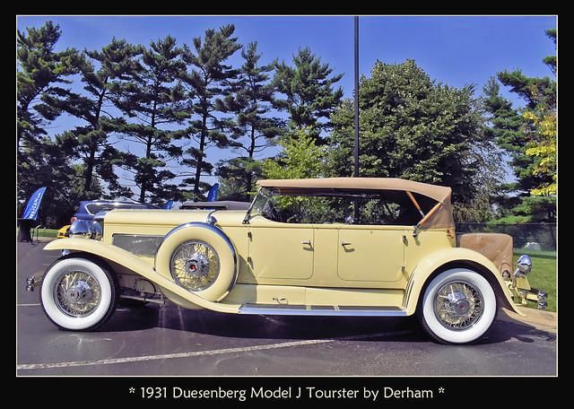 1931 Duesenberg Model J Tourster by Derham