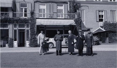 Bezoek van de Sultan van Deli aan Angerenstein