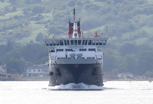 MV Caledonian Isles leaving Arran