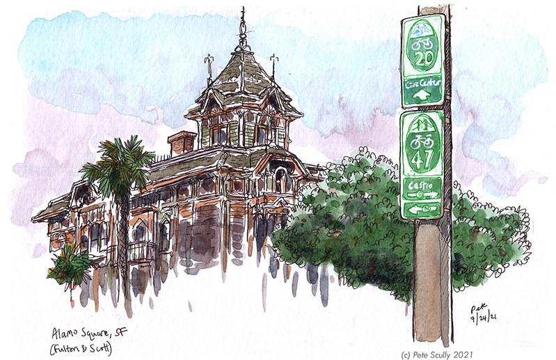 SF Fulton & Scott (Alamo Square)