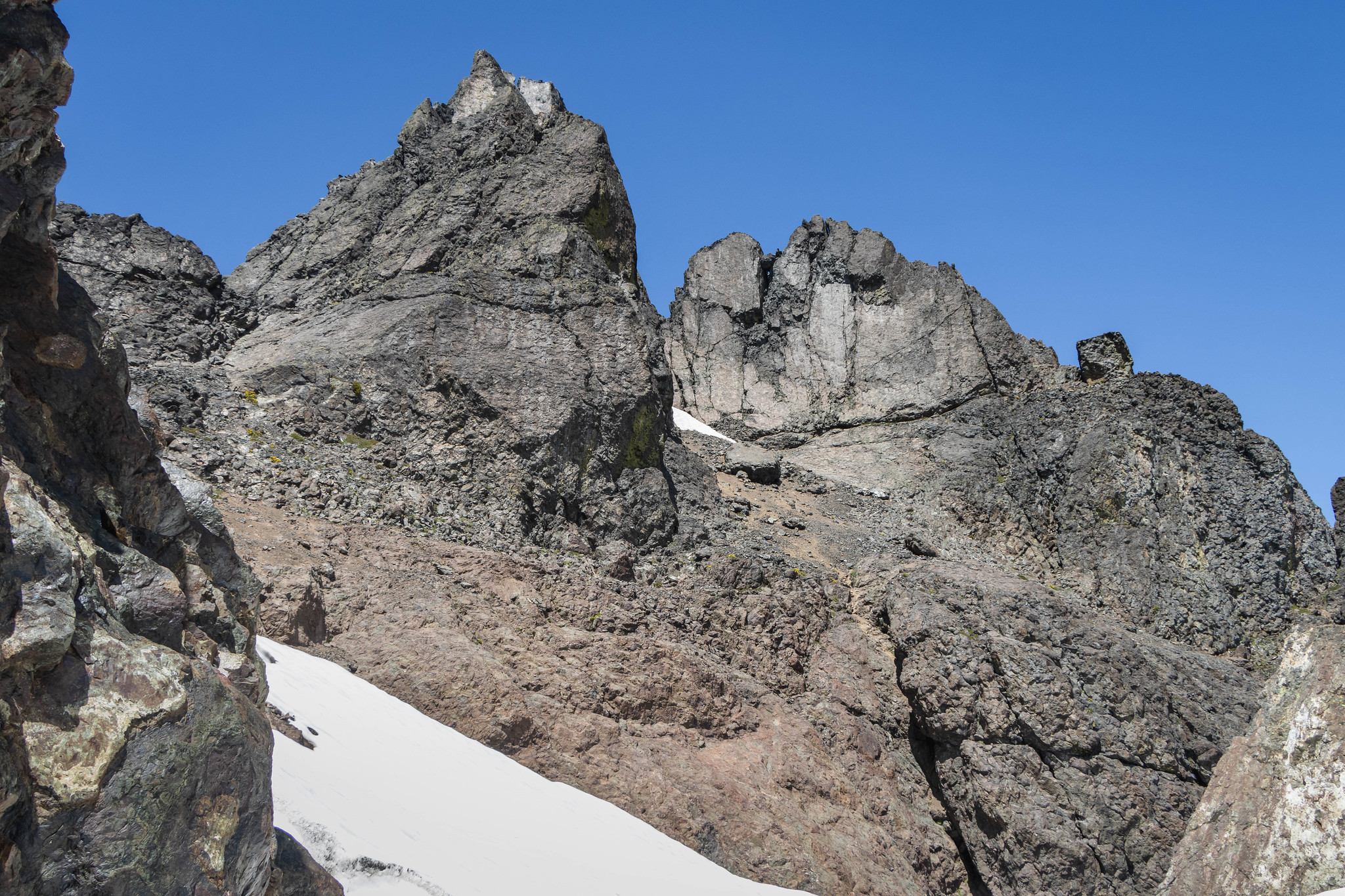 Point 7520 and Mount Constance south summit