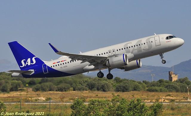 SE-ROH - SAS Scandinavian Airlines - Airbus A320-251N - PMI/LEPA