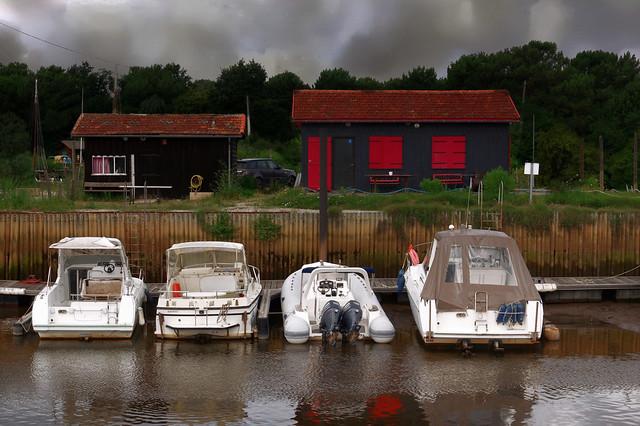 Port de pêche de La Hume