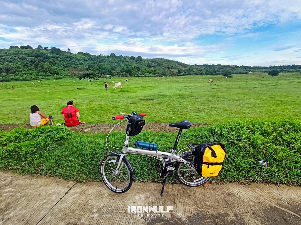 Starting the ride at Davilan, Carmona