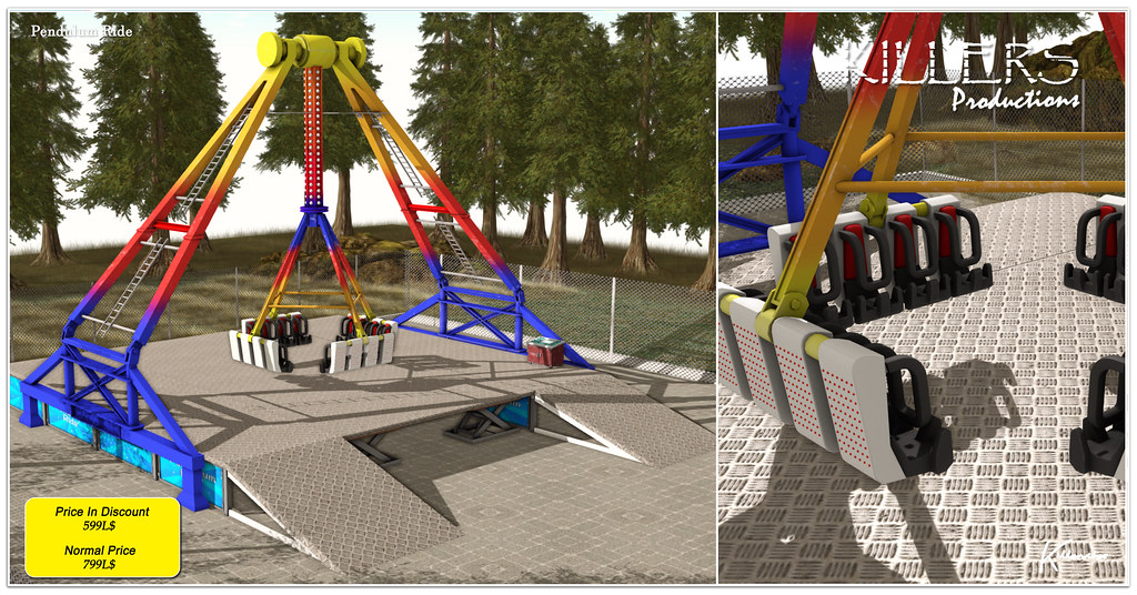 """""""Killer's"""" Pendulum Ride On Discount @ Cosmopolitan Event Starts from 26th July"""