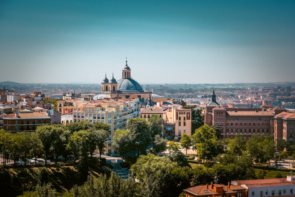 Things to do in Madrid | View of Madrid from Cathedral Alemundo