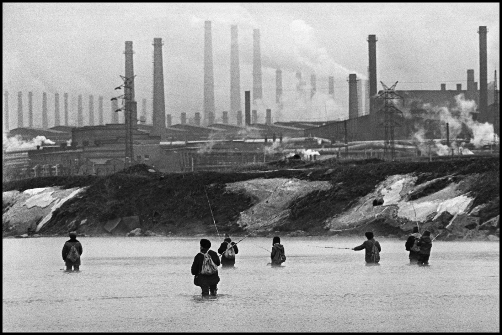 1974. Магнитка. Зимняя рыбалка