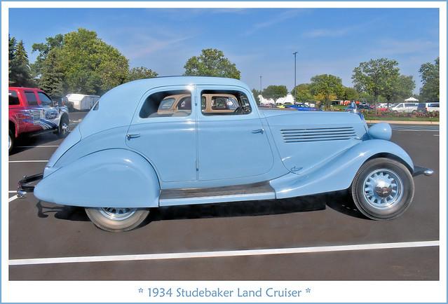 1934 Studebaker Land Cruiser