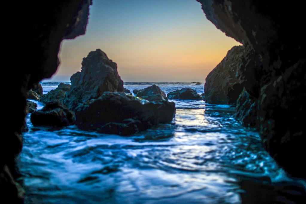 Rocks sunset El Matador