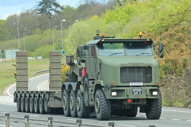 Oshkosh Military Transporter HF53 BTX