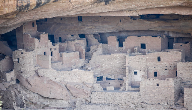 Cliff palace detail