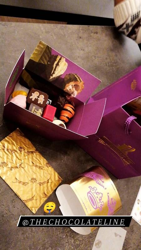 Caja de bombones de Chocolate Line