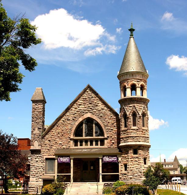 Rutland VT Church with Turret