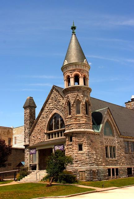 Rutland VT Church with Turret # 2