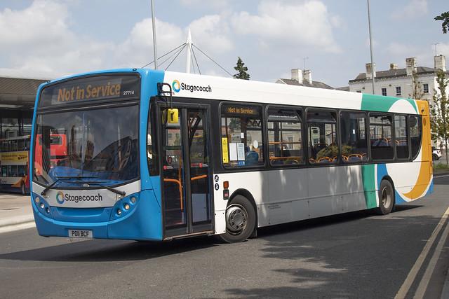 Stagecoach ADL Enviro 300 27714 PO11 BCF