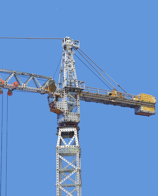 Tower Crane, top of tower