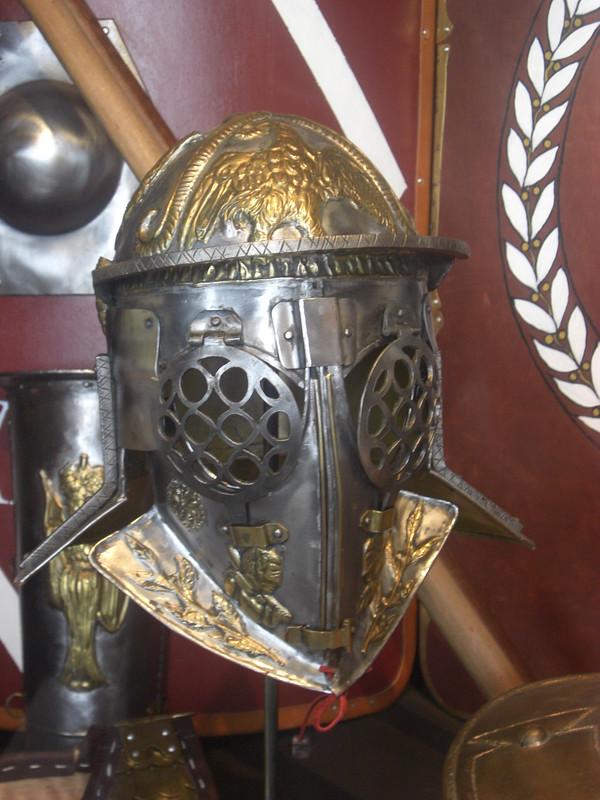Ceremonial Gladiator Helmet