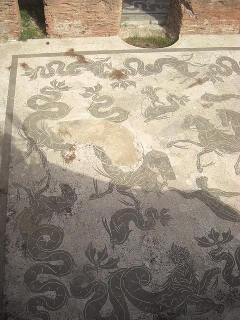 Detail of Neptune Mosaic