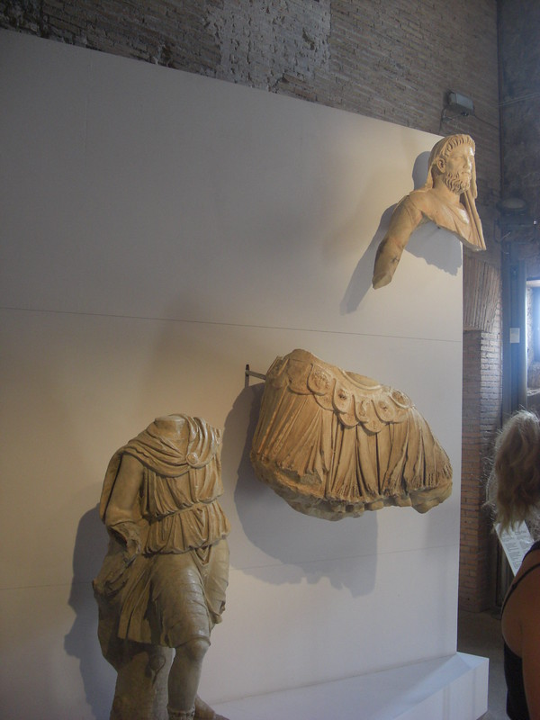 Cast of a Statuary Group of Aeneas, Anchises and Ascanius