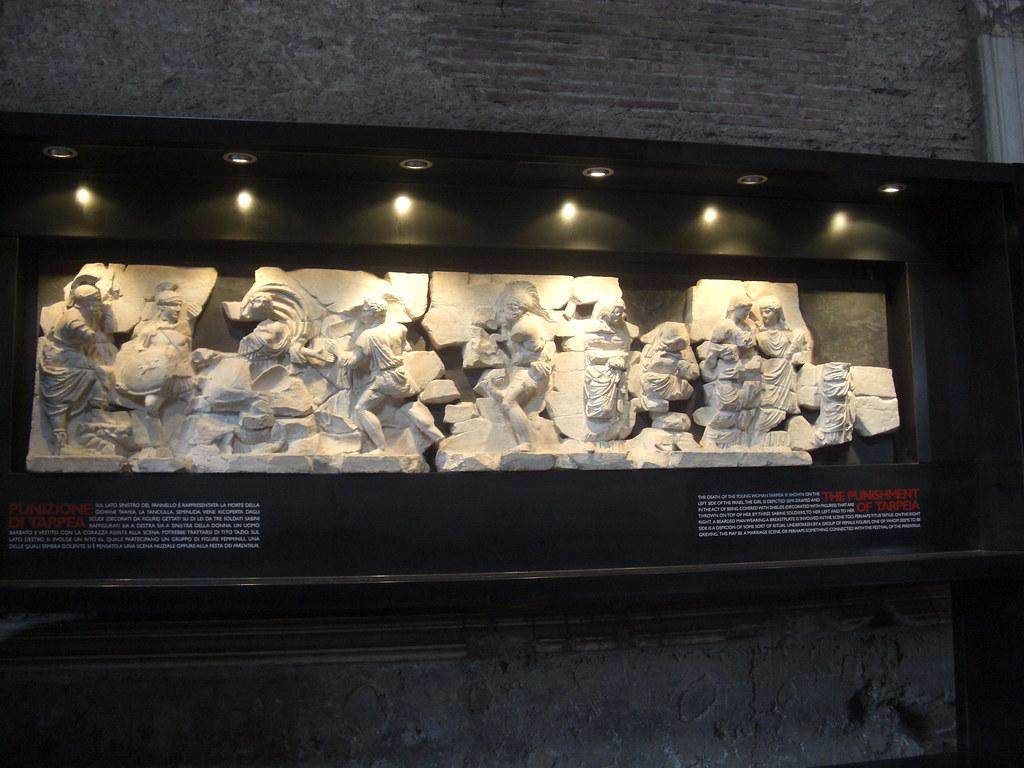 Relief of Tarpeia