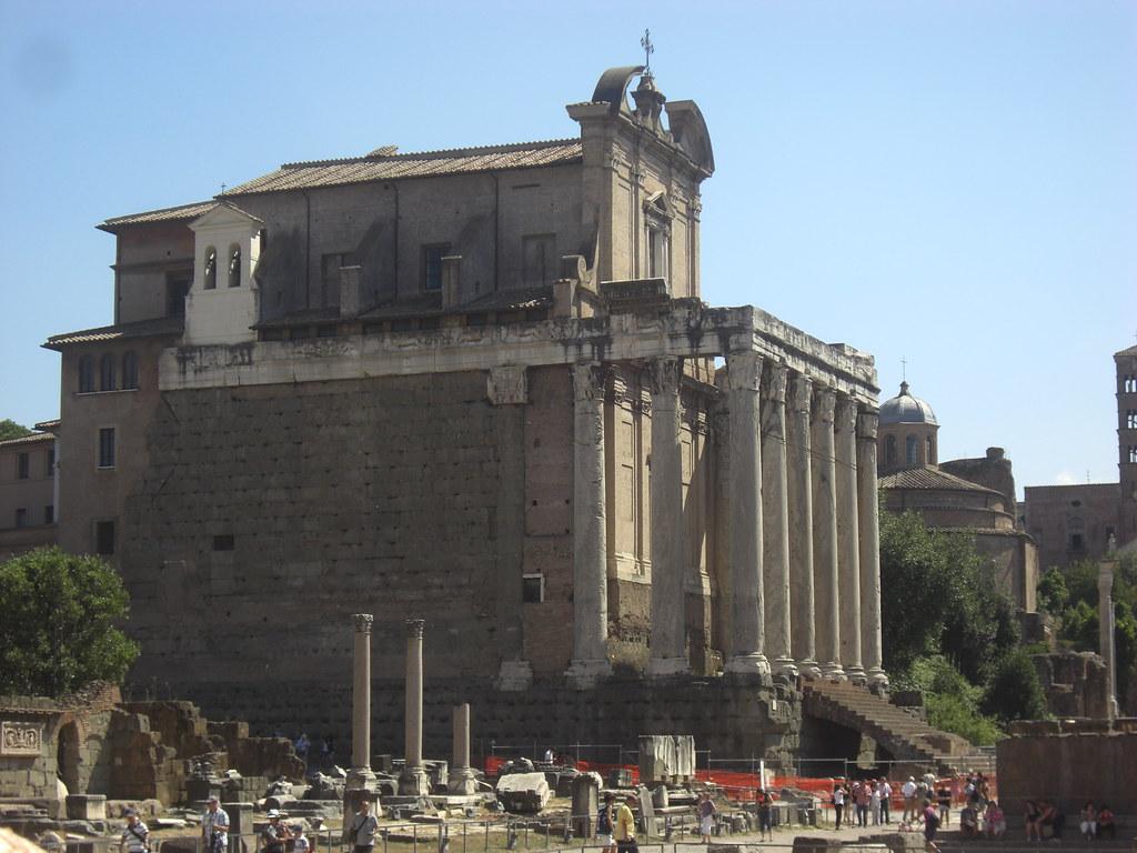 Temple of Antoninus Pius and Faustina