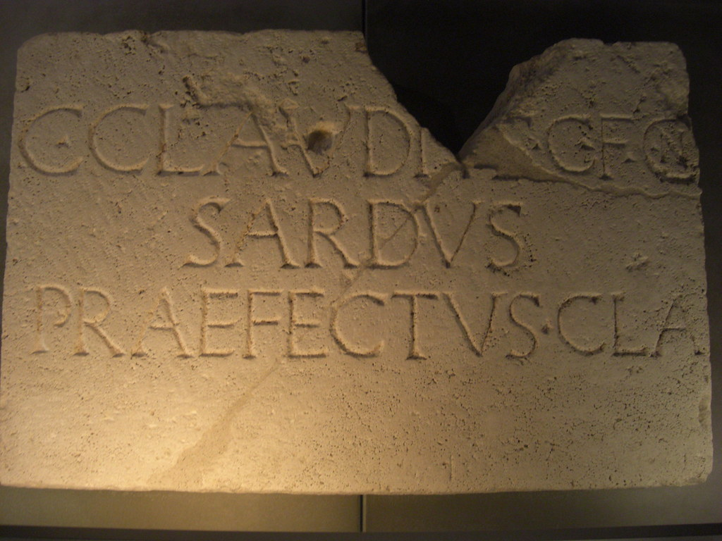 Epitaph of C. Claudius Sardus