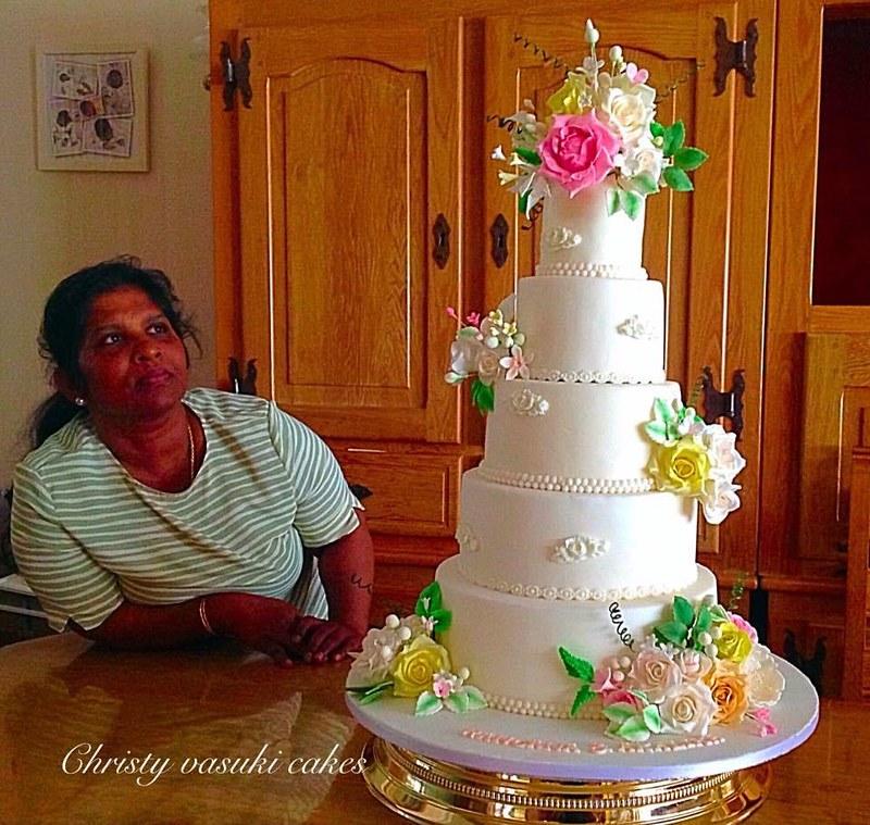 Cake by Christy Vasuki Cakes