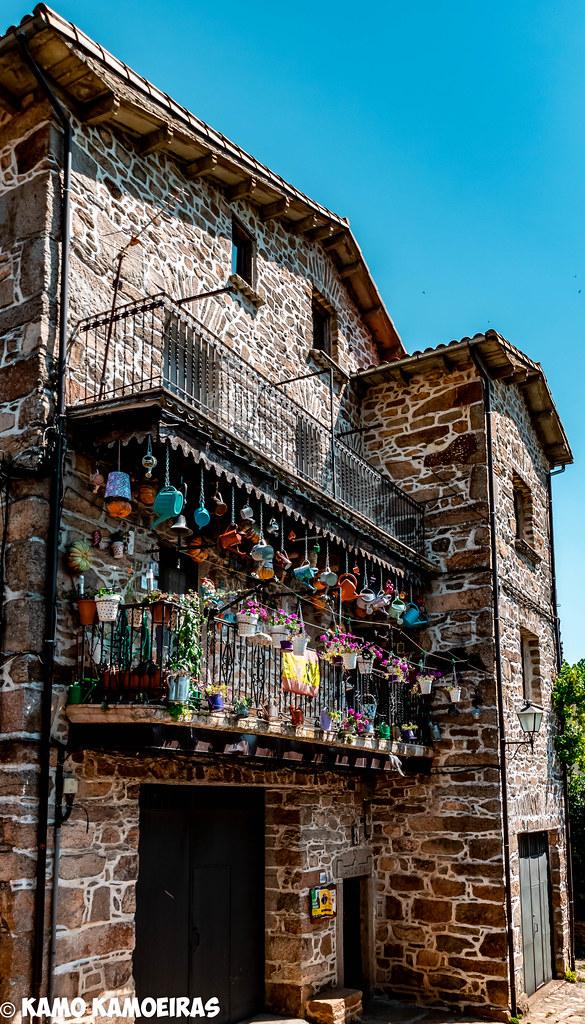 balcon de las regaderas, La Alberca