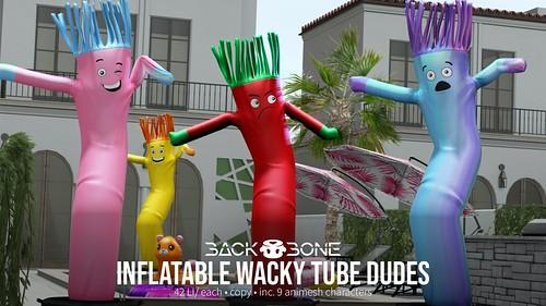 BackBone Inflatable Wacky Tube Dudes