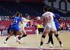 Balonmano Femenino ESP vs FRA 09