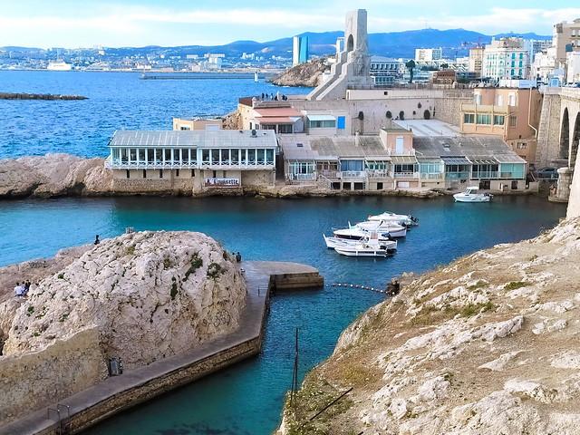 324 - Marseille en Juin 2021 - Vallon des Auffes